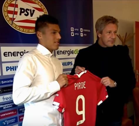 Joël Piroe rinnova il contratto con il PSV