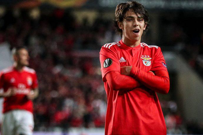 Joao Felix esulta così contro l'Eintracht Francoforte