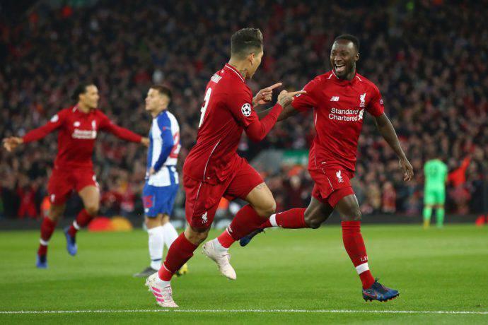 Keita e Firmino a segno contro il Porto