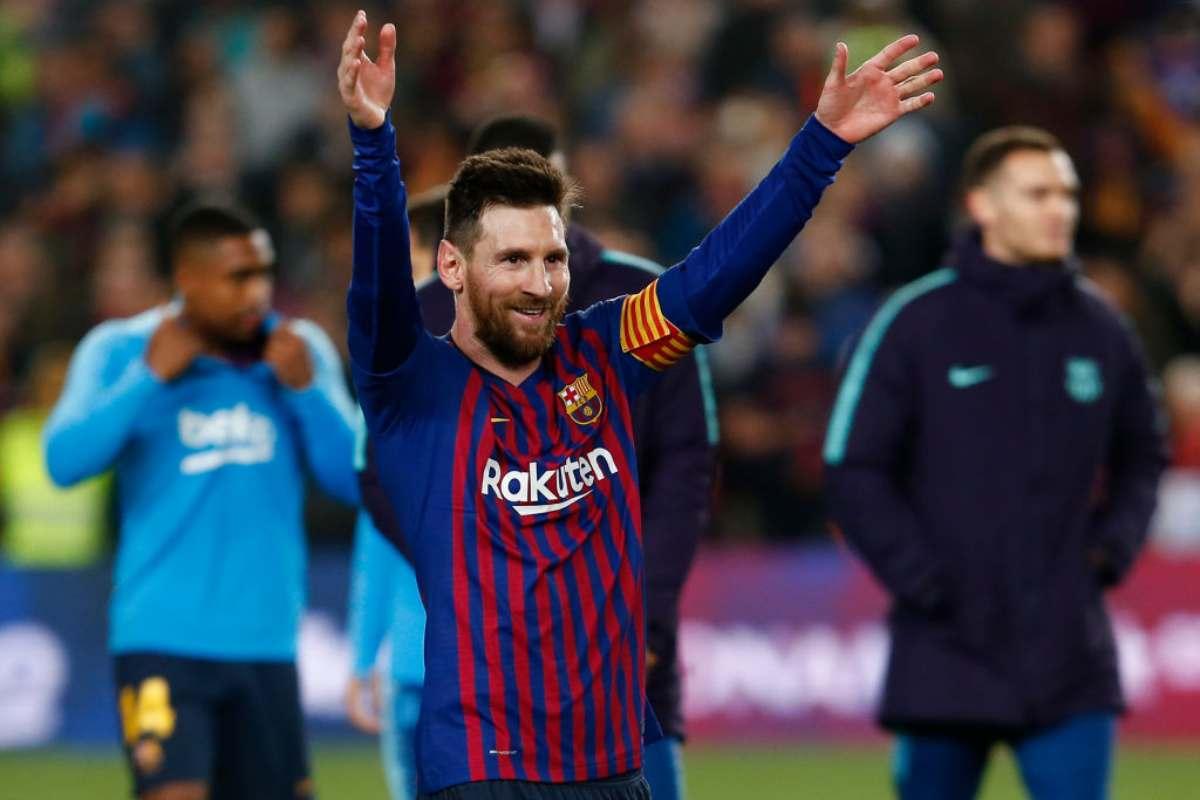 Leo Messi Barcellona decima Liga