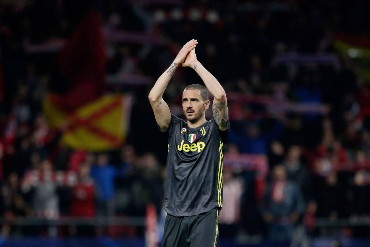 Leonardo Bonucci Juventus nel mirino del Real Madrid