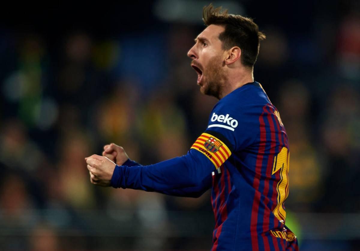 Lionel Messi ancora al comando della classifica per la scarpa d'oro