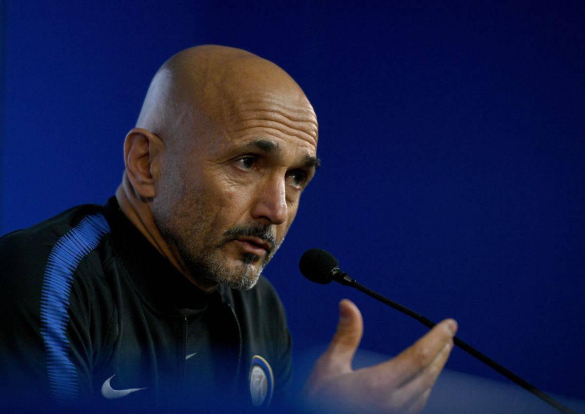 Luciano Spalletti Inter vigilia Frosinone