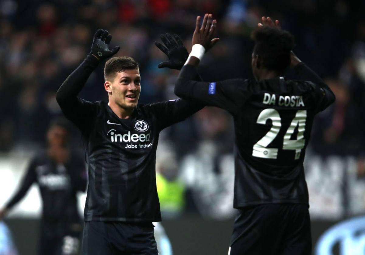 Luka Jovic Eintracht ipotesi Real Madrid