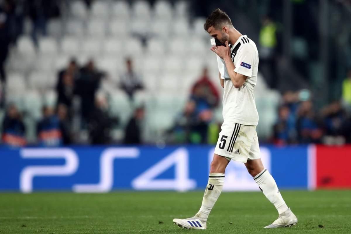 Miralem Pjanic Juventus nel mirino di Real Madrid e Psg