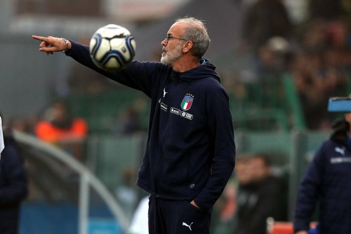 Paolo Nicolato ct Italia Under 20