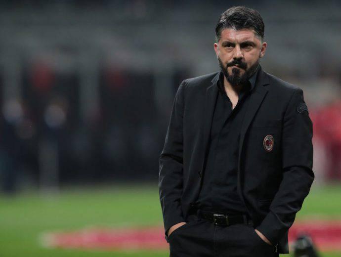 Rino Gattuso Milan vigilia Udinese