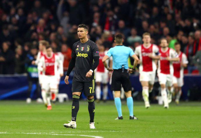 Ronaldo ha segnato anche ad Amsterdam