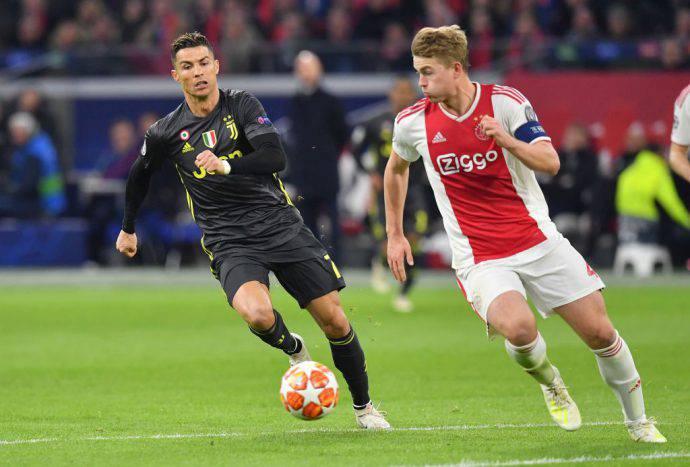 Ronaldo insegue De Ligt