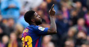 Samuel Umtiti Barcellona nel mirino della Juventus