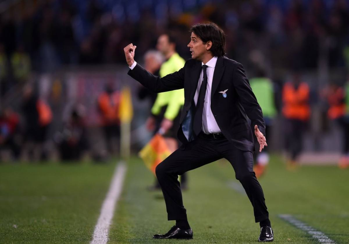 Simone Inzaghi Lazio vigilia Udinese