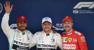 bottas hamilton vettel Formula 1 Cina Qualifiche