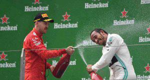 hamilton vettel Formula 1 Cina