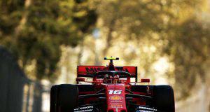 charles Leclerc Ferrari Formula 1 Baku