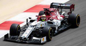 mick schumacher f1 test bahrein