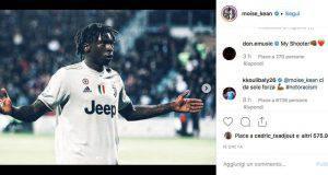 Koulibaly commenta post Kean
