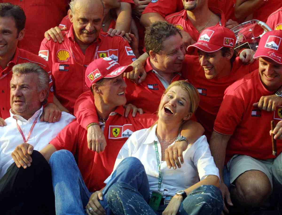 willi weber michael schumacher Formula 1
