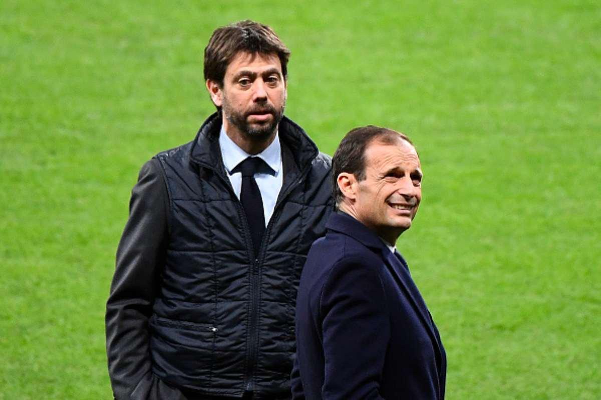 Andrea Agnelli e Massimiliano Allegri Juventus