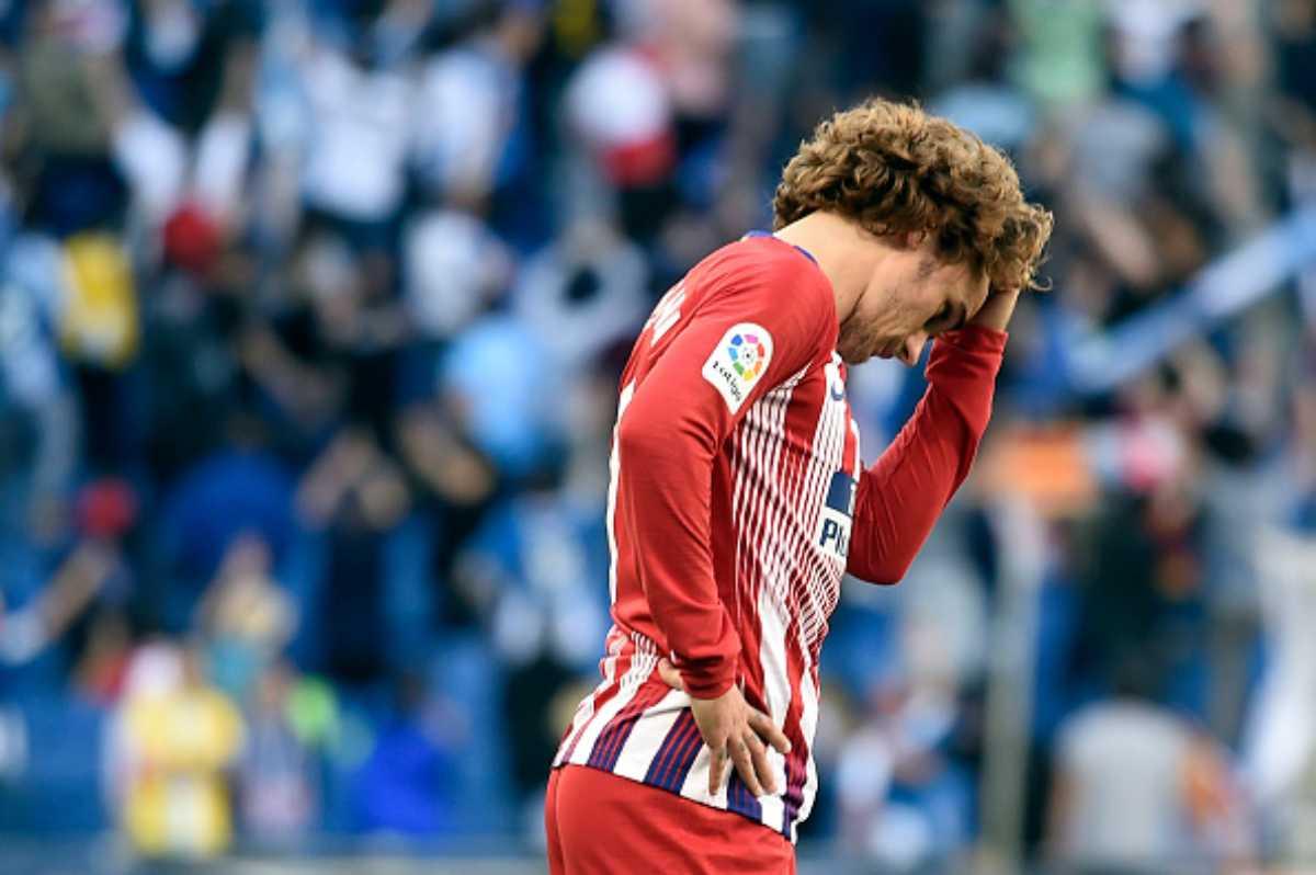 Antoine Griezmann Atletico Madrid Simeone