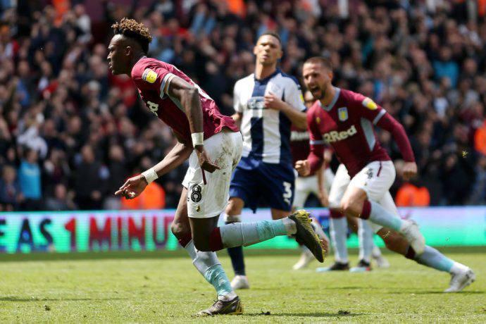 Aston Villa vittorioso nella gara d'andata contro i cugini del WBA