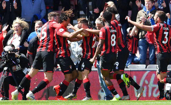 Bournemouth vittorioso sul Tottenham