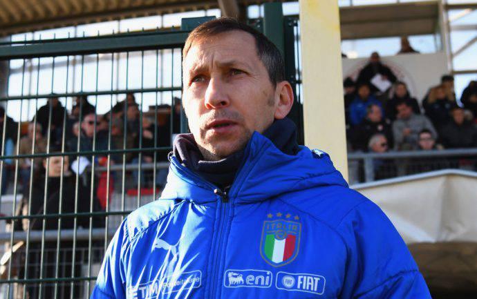 Carmine Nunziata, CT della nazionale under 17