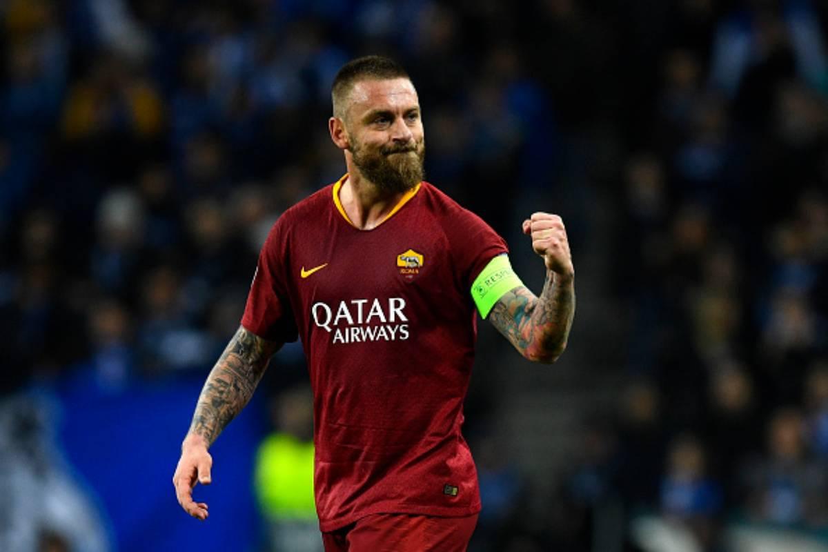 Daniele De Rossi addio alla Roma