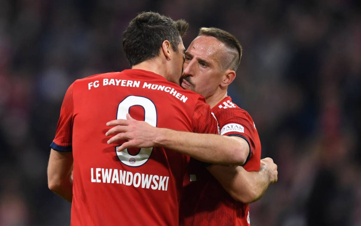 Franck Ribery addio al Bayern Monaco