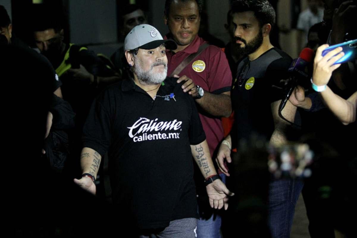 Maradona arrestato