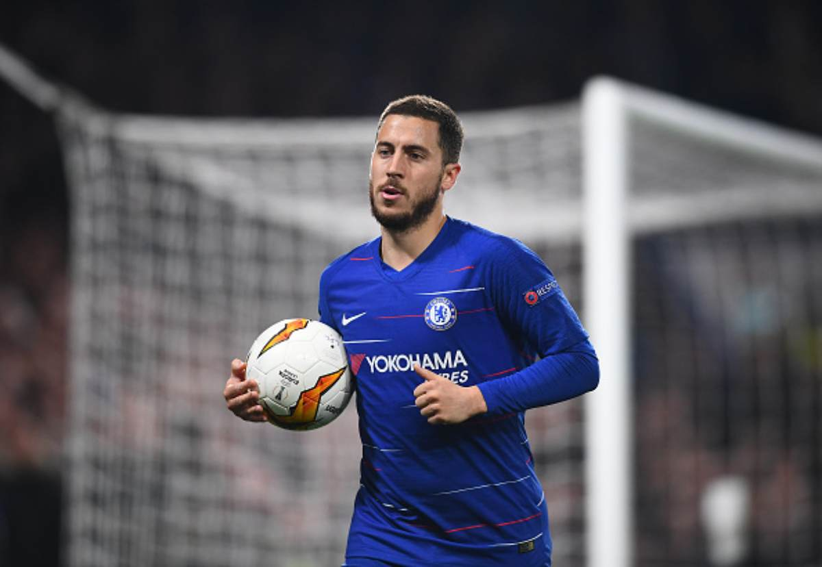 Real Madrid Chelsea Hazard