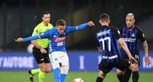 le pagelle di Napoli-Inter