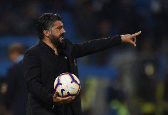 Gattuso Napoli Milan salto