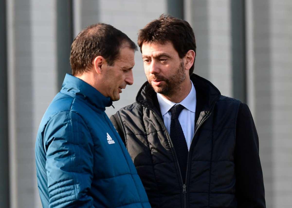 Massimiliano Allegri e Andrea Agnelli Juventus