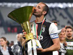 Giorgio Chiellini capitano della Juventus