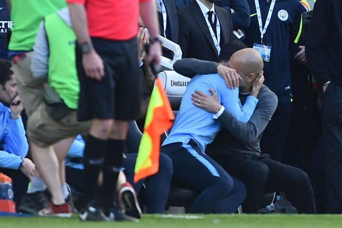 Guardiola emozionato a Brighton