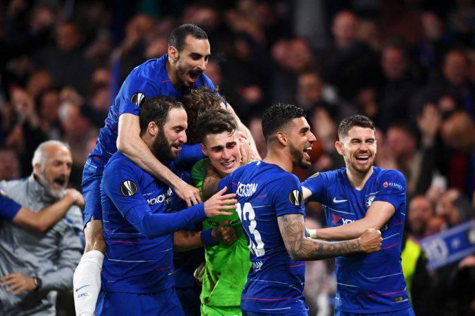 Il Chelsea ha eliminato l'Eintracht ai rigori