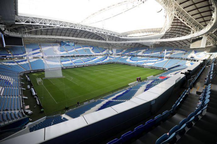 Il Qatar ha inaugurato il primo stadio per i Mondiali 2022