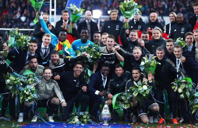 L'Ajax ha vinto la Coppa d'Olanda 2019