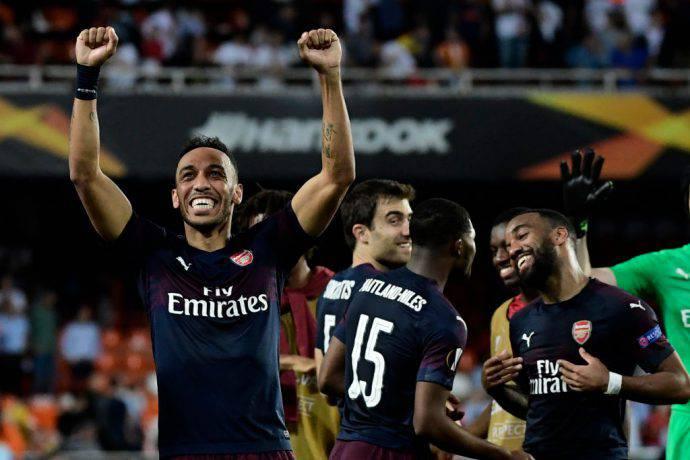 L'Arsenal strapazza il Valencia anche al Mestalla