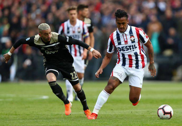 La finale di coppa olandese tra Ajax e Willem II