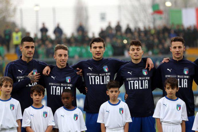La nazionale italiana under 20