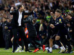 Lampard esulta dopo la vittoria a Leeds