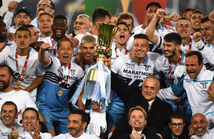 Lazio in festa con il Settimo Sigillo