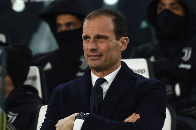 Massimiliano Allegri post derby