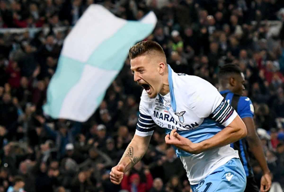 Milinkovic Savic Lazio nel mirino della Juventus