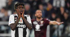 Moise Kean Juventus Real Madrid