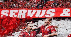 Ribery e Robben per sempre nei cuori dei tifosi del Bayern