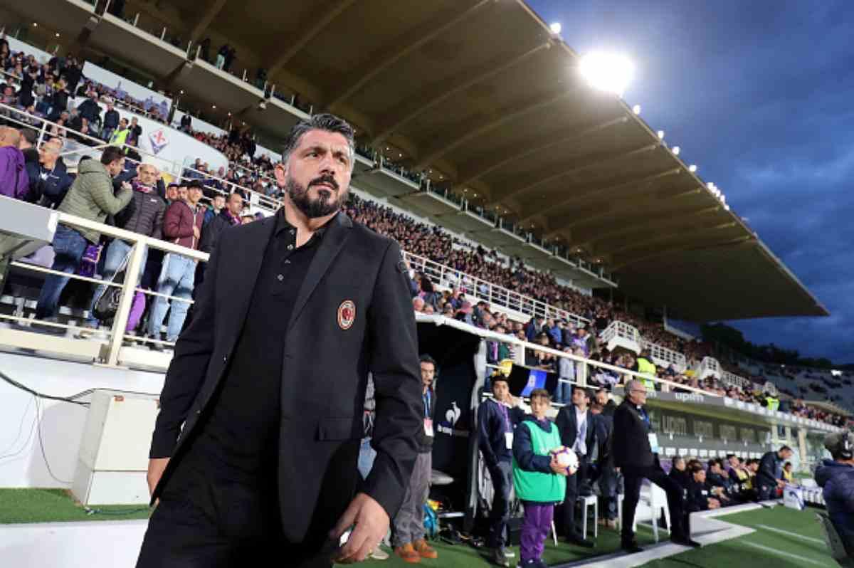 Rino Gattuso Milan addio