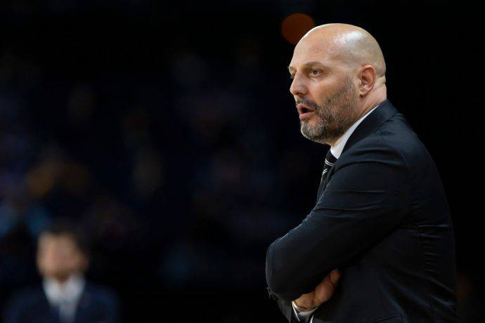Sasha Djordjevic, coach serbo della Virtus Bologna