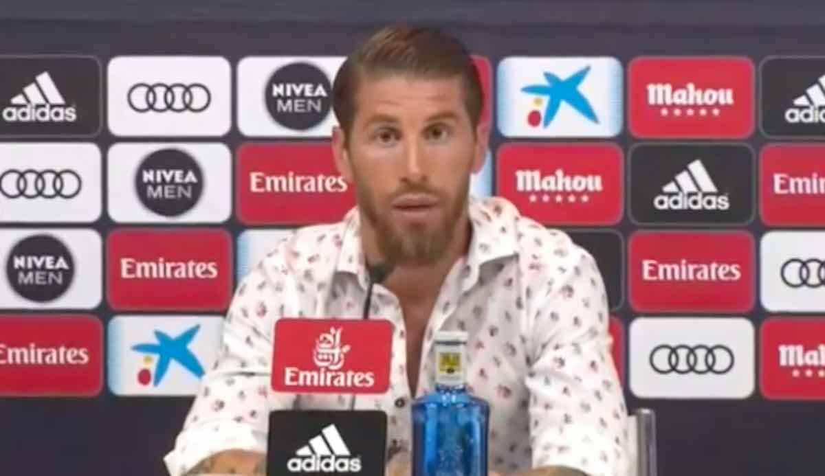 Sergio Ramos annuncia che resta al Real Madrid